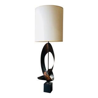 Harry Balmer for Laurel Brutalist Lamp