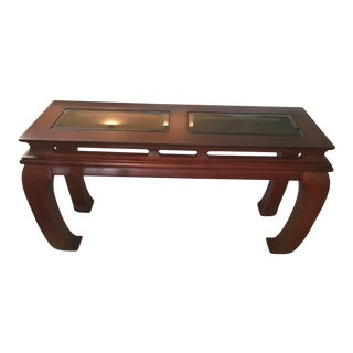 Made Goods Ming Chinoiserie Console Table For Sale