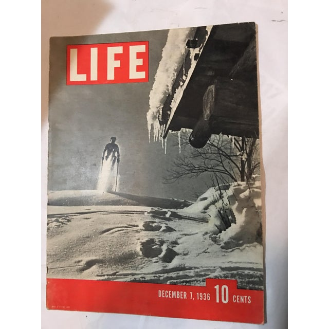 1936 Life Magazine First Historical Issues - Set of 6 - Image 5 of 11