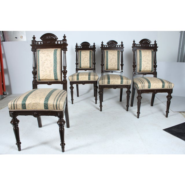 Baroque-Style Dining Chairs - Set of 4 - Image 4 of 4