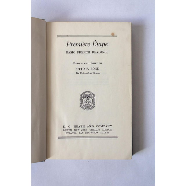"""""""Premiere Etape: Basic French Readings"""" French School Book For Sale In Dallas - Image 6 of 11"""
