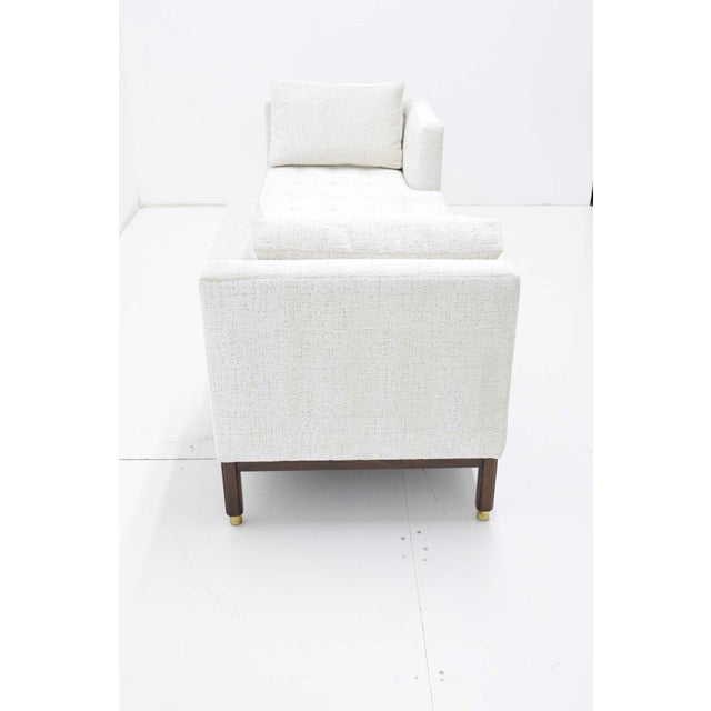 1950s 1950s Vintage Dunbar Tête-à-Tête Sofa by Edward Wormley For Sale - Image 5 of 10