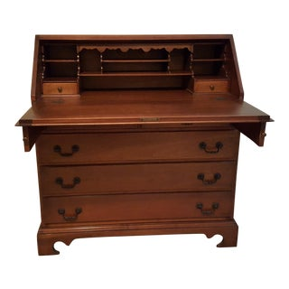 Stickley Governor Winthrop Slant Top Desk