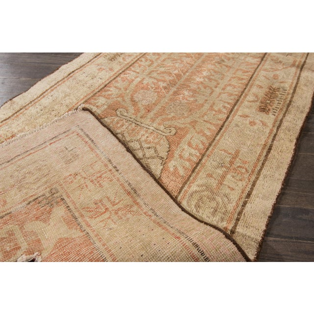 "Antique Khotan Runner- 2'8"" x 9'5"" - Image 3 of 7"