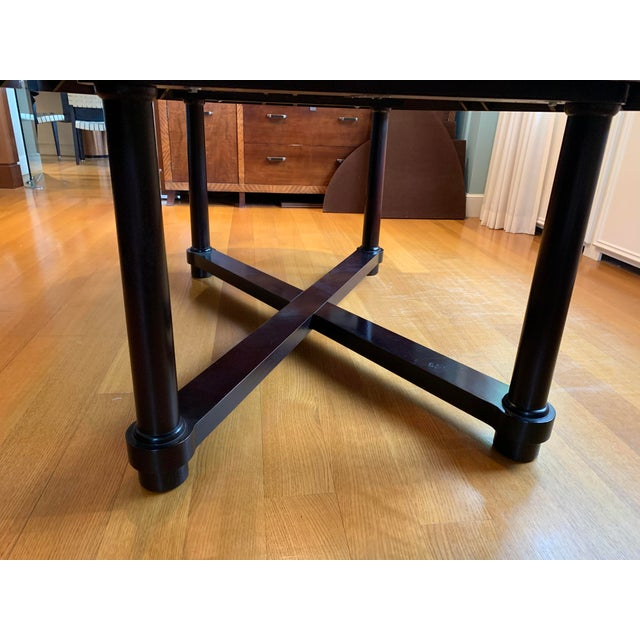 Barbara Barry for Baker Mahogany Ambassador Oval Dining Table For Sale - Image 11 of 13