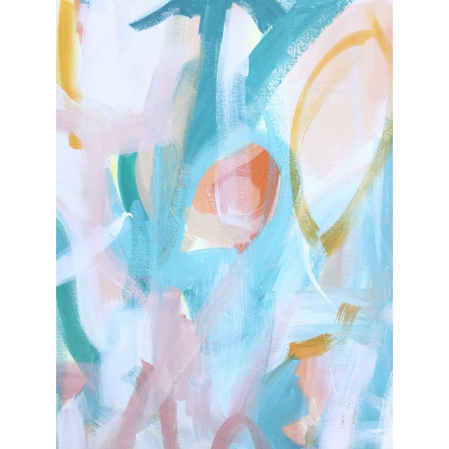 Abstract Mojave Desert Contemporary Abstract Painting For Sale - Image 3 of 4
