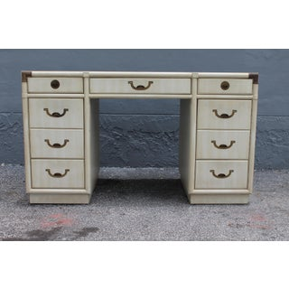 Hollywood Regency Campaign Style Giltwood Desk Preview