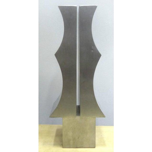 Modernist Aluminum Sculpture by Yutaka Toyota 'Japan/Brazil circa 1970' - Image 5 of 10