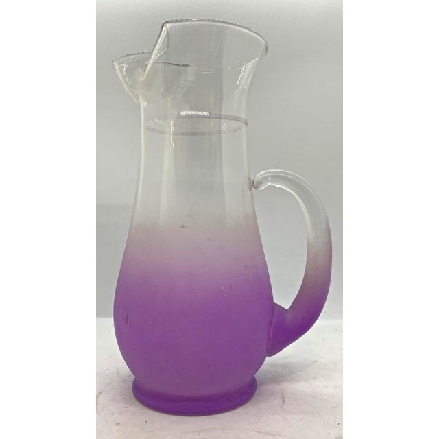1960s 1960s Mid Century Blendo Orchid Pitcher For Sale - Image 5 of 5