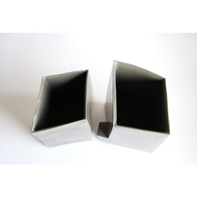 Architectural Ceramic Vases - A Pair - Image 9 of 10