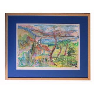 Impressionist Landscape by Korniloff For Sale
