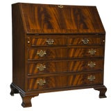 Image of Traditional Mahogany Secretary Desk For Sale
