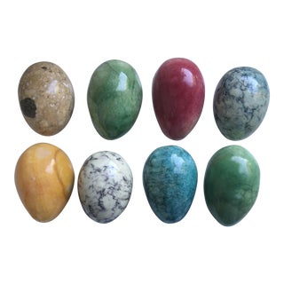 Italian Stone Eggs - Set of 8