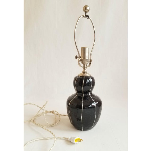 Black Bedside Table Lamp For Sale In Seattle - Image 6 of 6