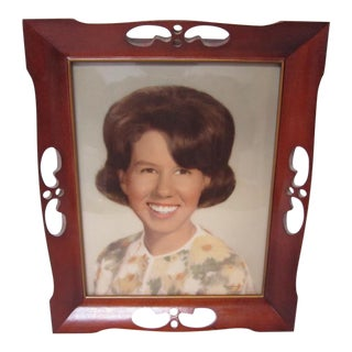1950's Wood Picture Frame