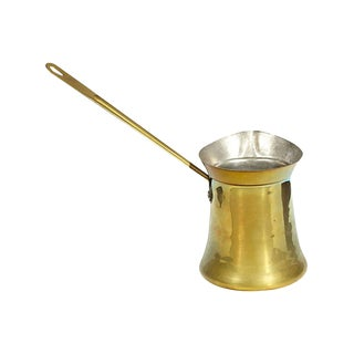 Moroccan-Style Gilt Metal Pourer For Sale