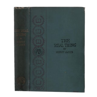 "1893 ""First Edition, the Real Thing and Other Tales"" Collectible Book For Sale"