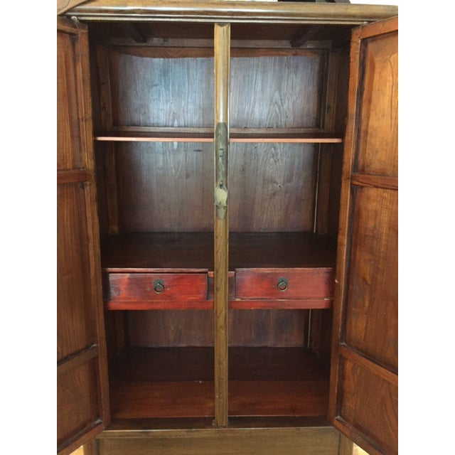 Chinese Ming-Style Armoire Cabinet - Image 5 of 6