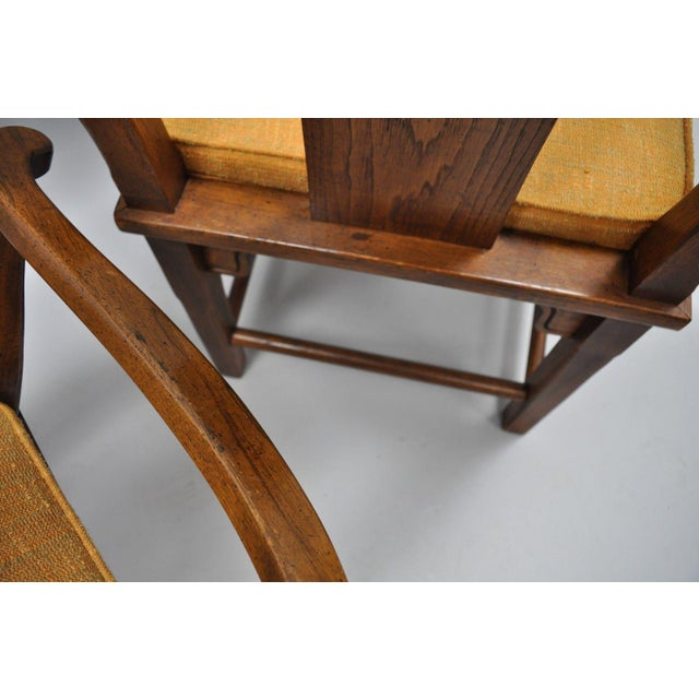 Wood Set of 6 Vintage Oriental James Mont Style Dining Chairs by Century Mid Century Modern For Sale - Image 7 of 13