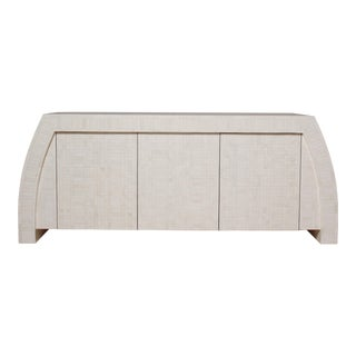 1980s Tessellated Bone Credenza by Enrique Garces, Colombia For Sale