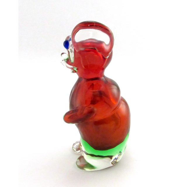 A vintage 1969 Drioli hand blown mouse liqueur bottle made in Murano, Italy. (There is another similar mouse on sale in my...