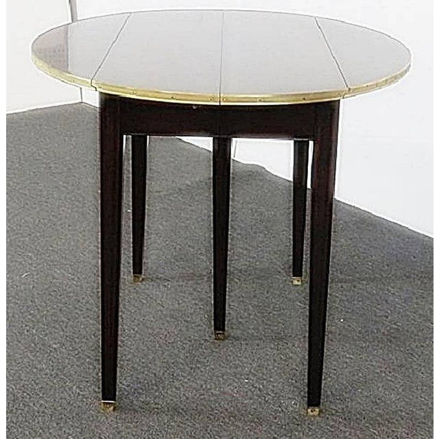Directoire Style Drop Leaf Dining Table For Sale - Image 4 of 11