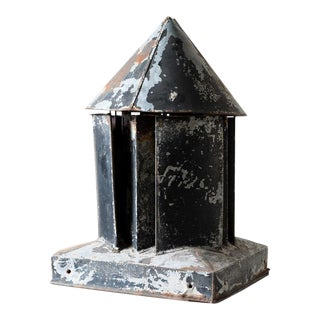 Vintage Rustic Roof Chimney Spout Vent For Sale