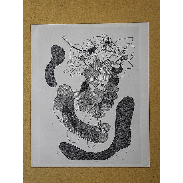 Vintage Lithograph by Georges Braque - Image 3 of 3
