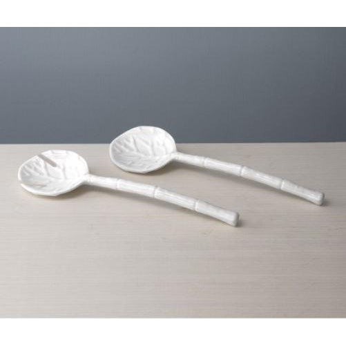 A garden delight in luxury melamine. With intricately detailed leaves as the salad fork and spoon, and naturalistic...