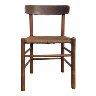 1960s Vintage Borge Mogensen Dining Chair For Sale