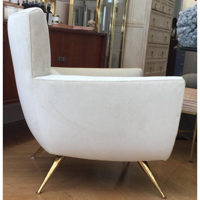 Mid-Century Modern 1950s Mid-Century Modern Henry Glass Lounge Armchair For Sale - Image 3 of 10