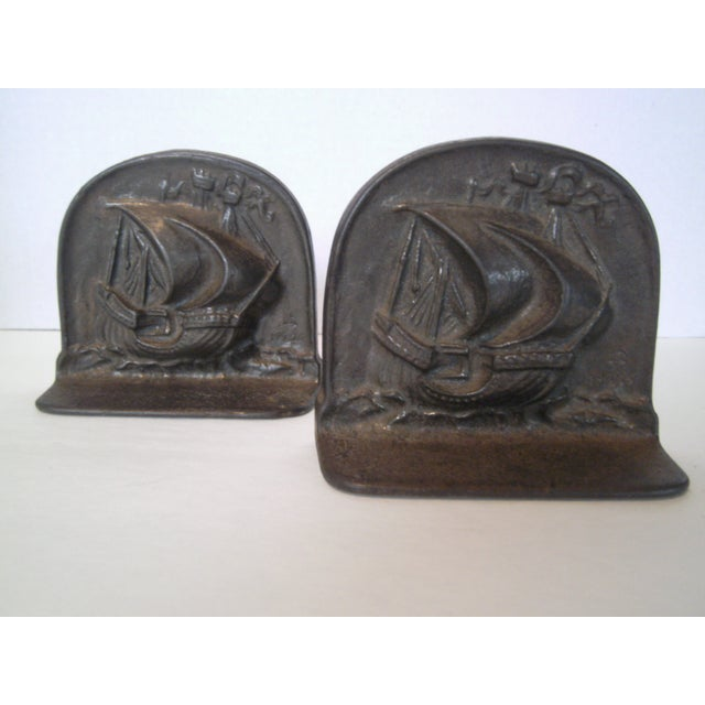 1925 Bradley & Hubbard Iron Bookends- A Pair - Image 2 of 9