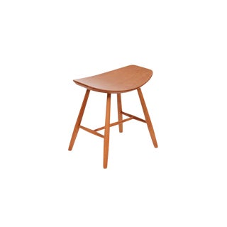 1930s Birch Stool by Ejvind Johansson for FDB Møbler For Sale