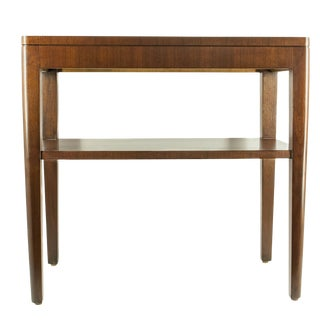 1970s Mid-Century Modern Stow & David End Table For Sale