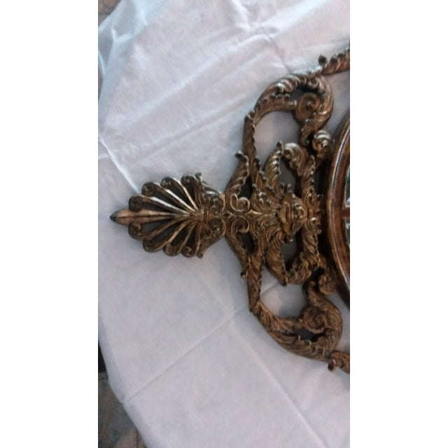 La Barge Ornate Baroque Gold Gilt Beveled Wall Mirror - Image 7 of 7