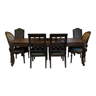 Drexel Heritage Talavera Tuscan Dining Room Set For Sale
