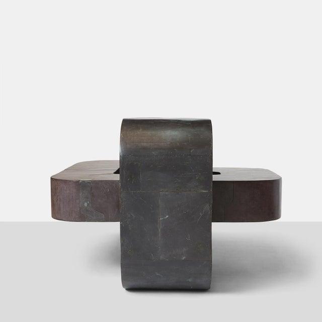 Pierre-Elie Gardette Center Table by Pierre-Elie Gardette For Sale - Image 4 of 8