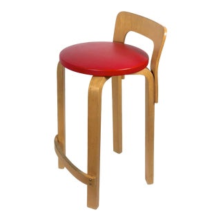 1950s Vintage Original Alvar Aalto Artek K65 High Chair For Sale
