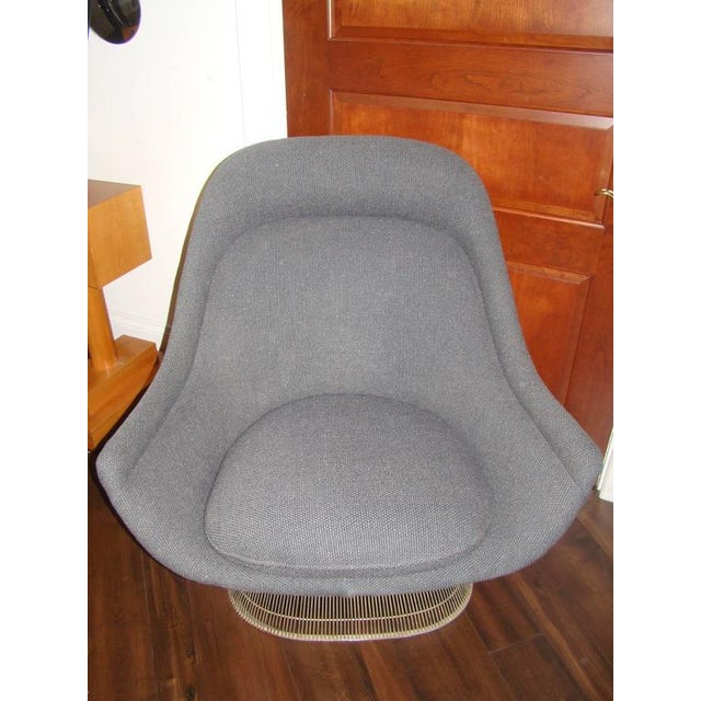 Knoll Warren Platner Throne Chair & Ottoman Lounge For Sale In Atlanta - Image 6 of 10