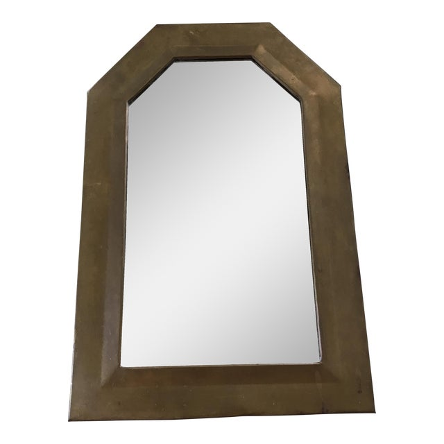 Vintage Brass Framed Mirror - Image 1 of 3