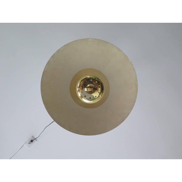 Brass Pendant Adjustable Lamp For Sale - Image 4 of 9