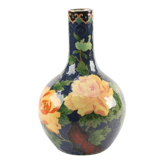 Antique Chinese Cloisonné Vase For Sale