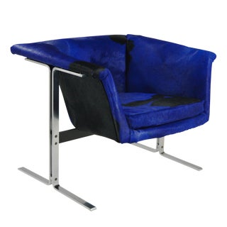 1960s Mid Century Modern Artifort Lounge Chair For Sale