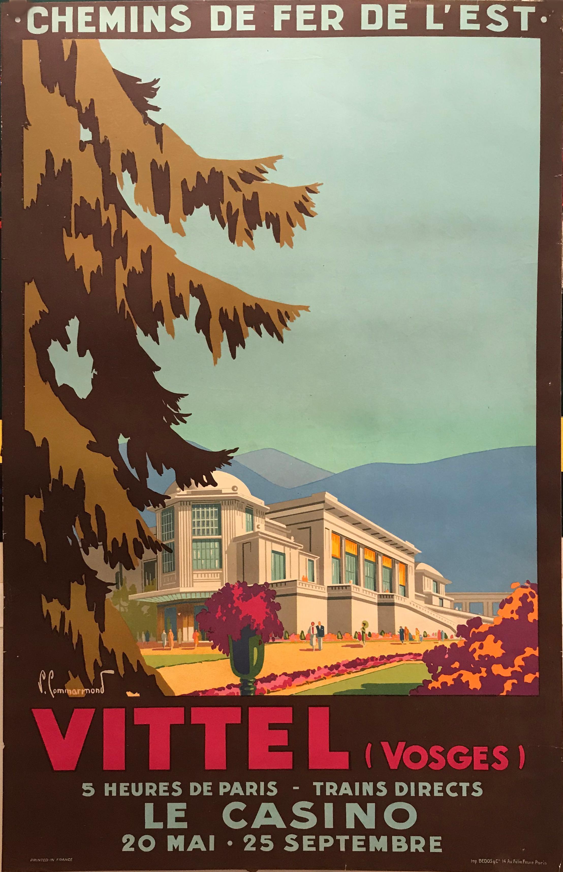 Decor Travel  Poster Fine Graphic Art Design Home Shop Wall Art 1930 Paris