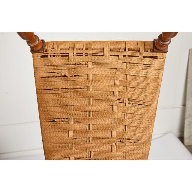 Italian Tall Ladderback Chiavari Chair For Sale - Image 11 of 12
