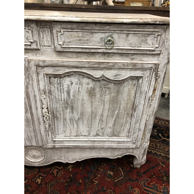 Early 19th Century French Washed Buffet For Sale - Image 4 of 9