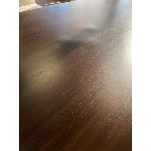 Metal Modern Mitchell Gold Bob Williams Kimora Dining Table For Sale - Image 7 of 9