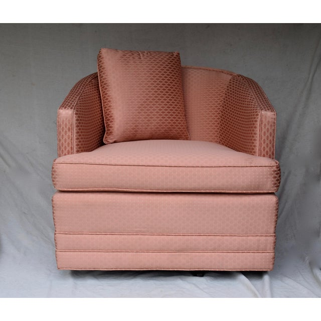 swivel lounge chair by century furniture chairish
