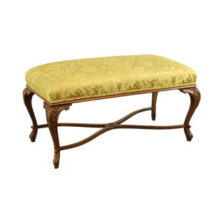 French Louis XV Style Custom Quality Window Bench For Sale