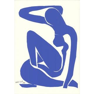 1990 Henri Matisse 'Blue Nude I' Serigraph For Sale